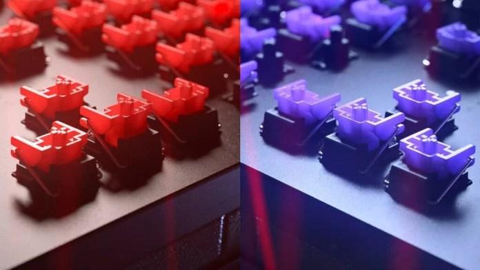 Huntsman V2 Red and Purple