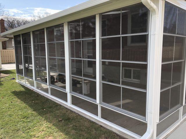 4 track vinyl stacking windows