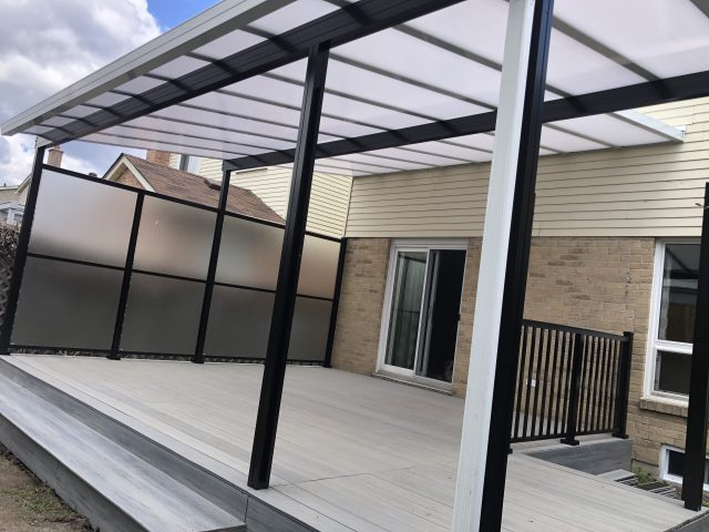 clear or translucent patio covers and