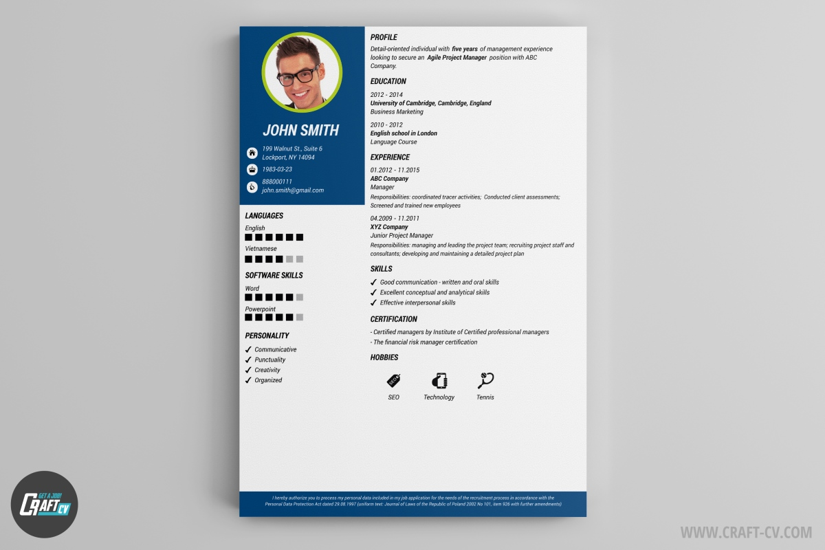 Remix it to make it your own. Cv Maker Professional Cv Examples Online Cv Builder Craftcv