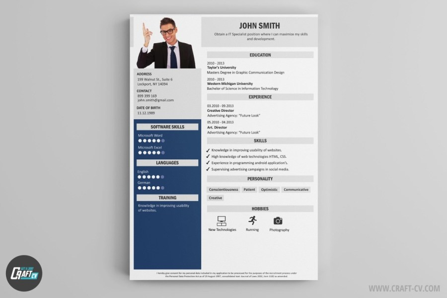 old resume builder » Free Press Templates | Full Images
