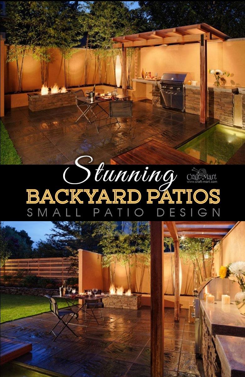 Stunning Patios with Lights (DIY Patio Lighting Ideas ... on Diy Small Patio Ideas id=70974