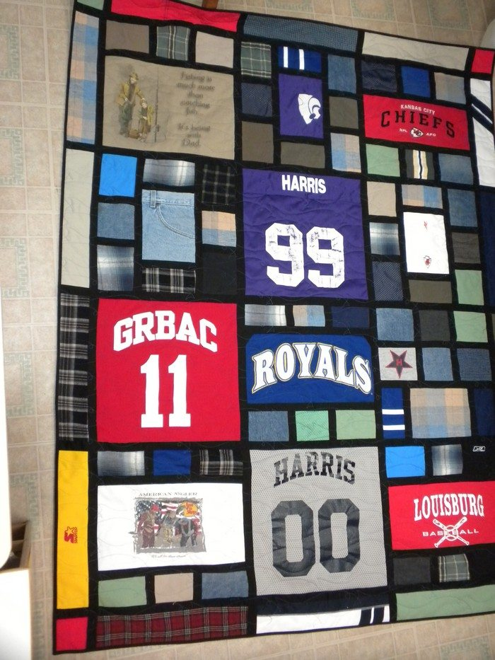 Turn Your Old Favourite Shirts Into A T Shirt Quilt