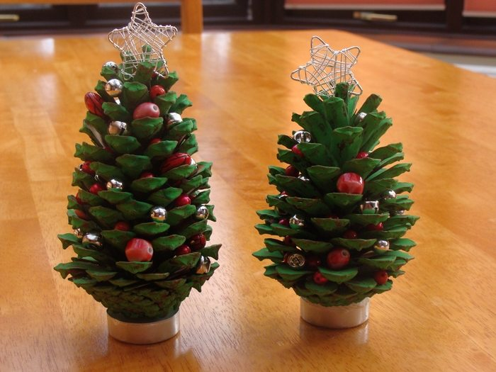 pine cone craft ideas decorations made from pine cones 5164
