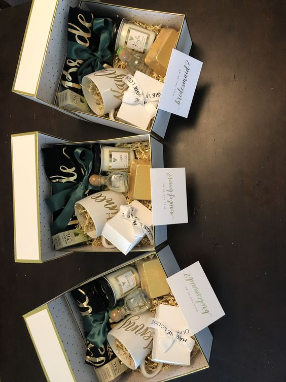Custom Bridesmaids Proposal Boxes