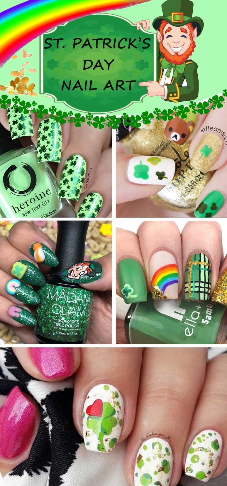 St Patricks Day Nail Ideas