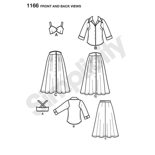 simplicity-sportswear-pattern-1166-front-back-view