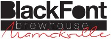 Black Font Brewhouse logo
