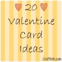 20 Valentine Card Ideas