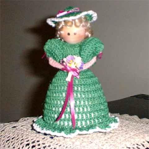 Pin Cushion Doll Crochet Pattern