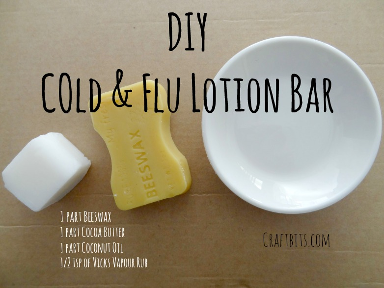 Cold & Flu Lotion Bar