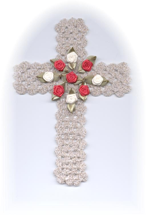 Crochet Religious Cross