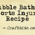 Bubble Bath - Sports