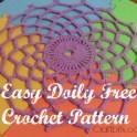 Easy Crochet Doily