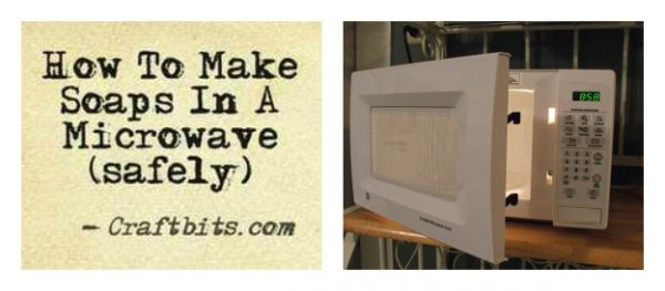How To Make Microwave Soap