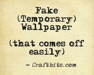 Fake Wallpaper