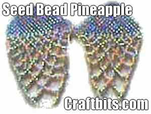 Seed Bead Pineapple