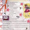 Embellished Latin Recipe Layout
