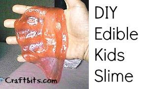 Edible Kids Slime