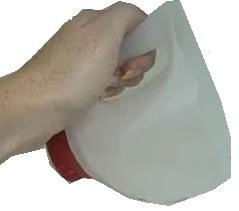 Milk Carton Garden Scoop