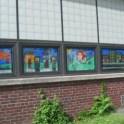 Classroom Window Painting