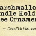 marshmallow-candle-tree-holder