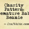 Charity Pattern: Premature Baby Beanie