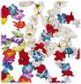 silk flower lei