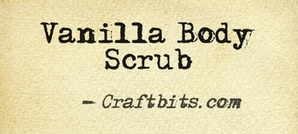 Vanilla Body Scrub