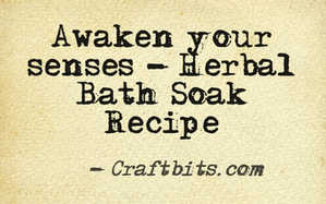 Herbal Bath Soak – Awakening