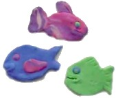 Clay Fish Magnets