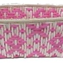 Weave A Basket In Pink Ribbon Design