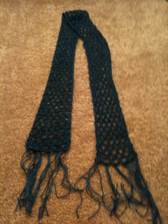 Diamond Sky Scarf Crochet Pattern