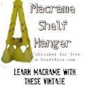 Macrame Rosalie Hanger