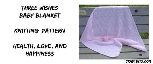 Three Wishes Baby Blanket