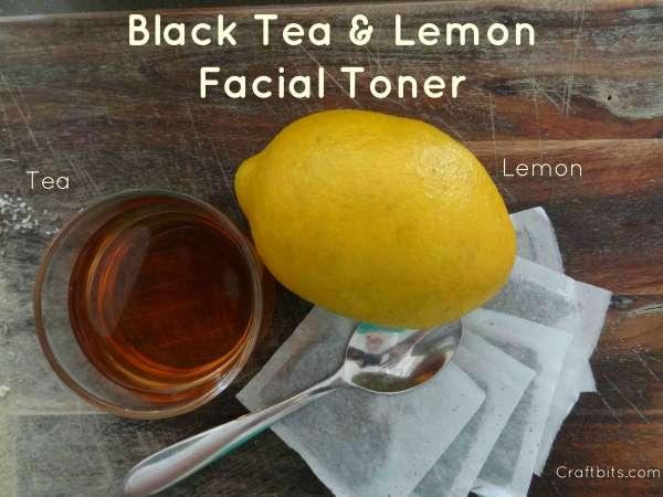 Black Tea & Lemon Toner