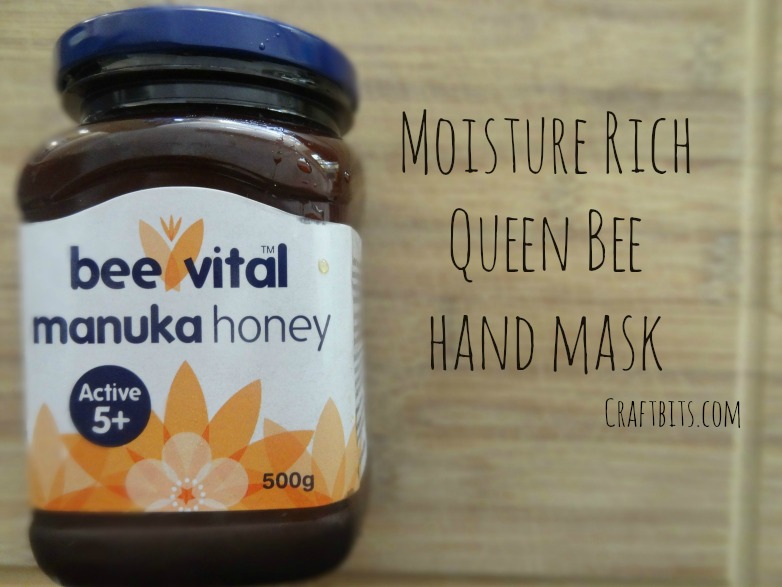 Queen Bee Hand Mask