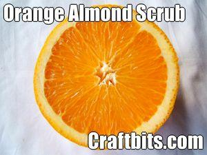 Orange & Almond Scrub