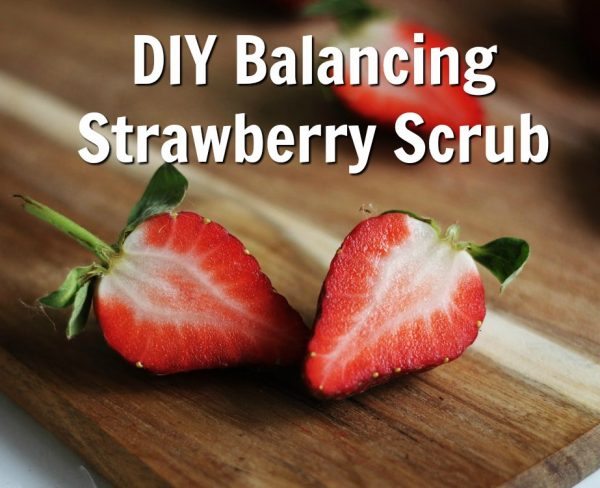 Balancing Strawberry Scrub