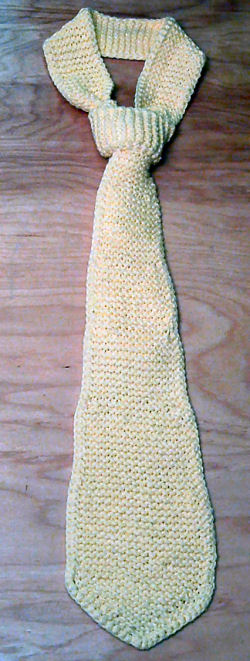 Knitted Neck Tie