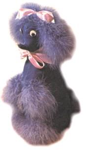 Kitsch Poodle Door Stop