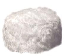 Fluffy Foot Pouffe
