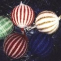 Knit Beaded Christmas Ornaments