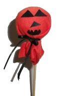 Pumpkin Lollipop Cover