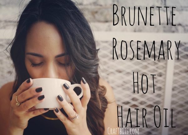 Brunette's Rosemary Hot Oil