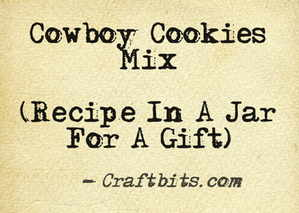 Cowboy Cookies Mix