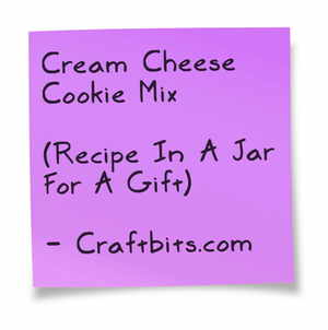 Cream Cheese Cookie Recipe