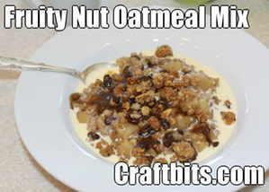 Fruity Nut Oatmeal Mix