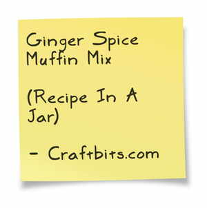Ginger Spice Muffin Mix
