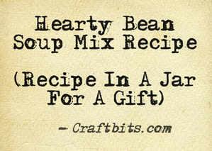 Hearty Bean Soup Mix Recipe